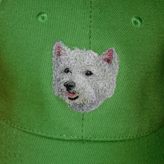 West highland white terrier mintás baseball sapka