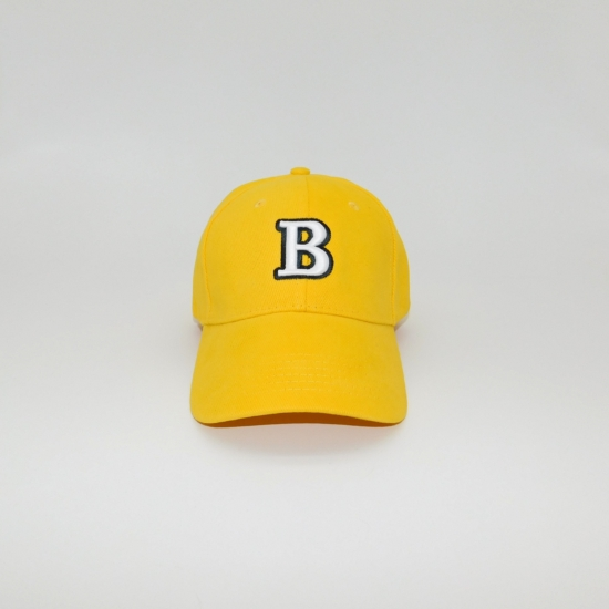 Hímzett puffy 'B' betűs baseball sapka