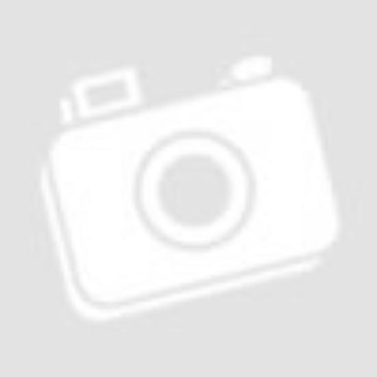 Férfi sötétszürke melírozott galléros póló